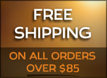 Free Shipping on orders over $85